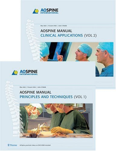 9781588905574: AO Spine Manual, Books and DVD