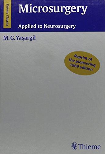 9781588905758: Microsurgery: Applied to Neurosurgery (Thieme Classics)