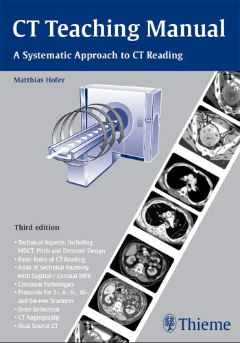 9781588905819: CT Teaching Manual: A Systematic Approach to Ct Reading