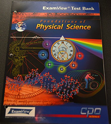 Foundations of Physical Science - ExamView Test: Hsu, Tom