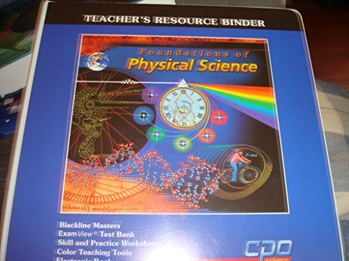 9781588920386: Foundations of Physical Science Teacher's Resource Binder