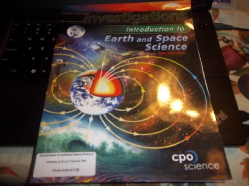 Investigations - Introduction to Earth and Space: HSU