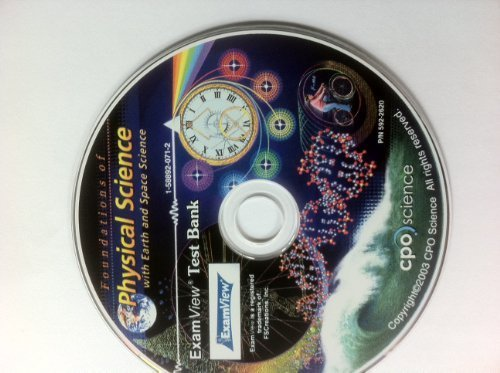 9781588920713: Foundations of Physical Science with Earth and Space Science CD-Rom ExamView Test Bank