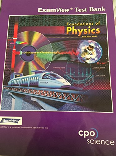 9781588921376: Foundations of Physics (ExamView Test Bank)