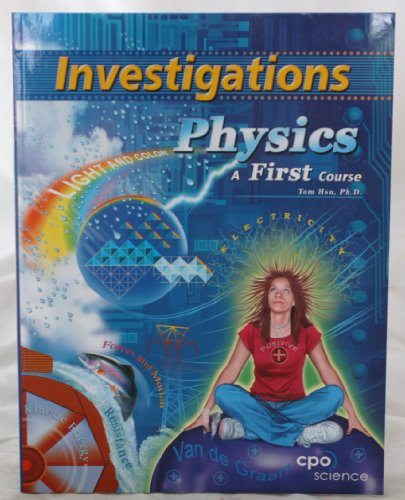 9781588921420: Physics - a First Course, Investigations Manual