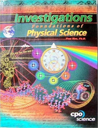 Investigations: Foundations of Physical Science (9781588921581) by Tom Hsu