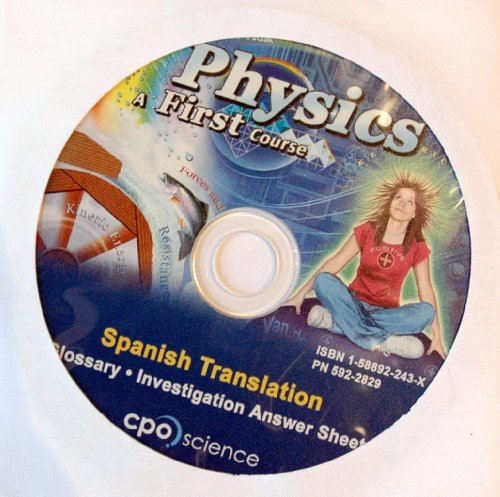 9781588922434: Physics a First Course Spanish Translation