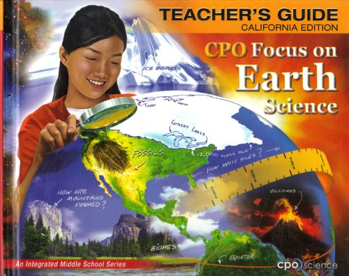 CPO: Focus on Earth Science- Teacher's Guide,: Sonja L. Taylor;