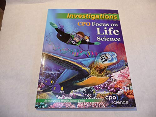 9781588922557: Investigations CPO Focus on Life Science