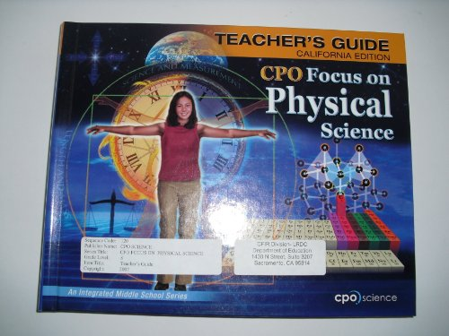 CPO Focus on Physical Science