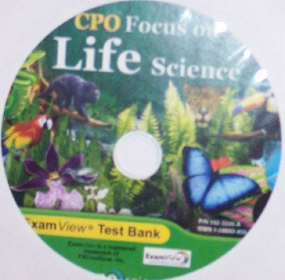9781588924551: ExamView Test Bank (CPO Focus on Life Science)