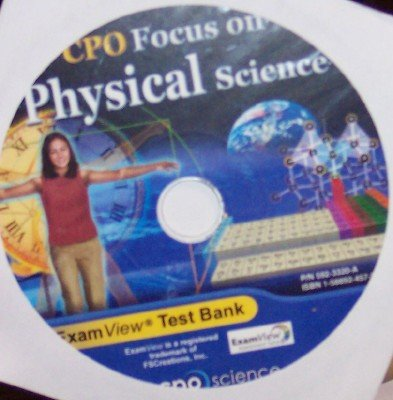 9781588924575: ExamView Test Bank (CPO Focus on Physical Science)
