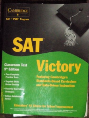 9781588940193: SAT Victory - Classroom Text 9th Edition