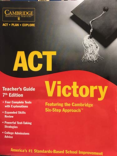 Act. Plan. Explore Victory Classroom Text: Cambridge