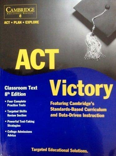 9781588940360: Act. Plan. Explore Victory Classroom Text