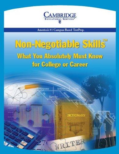 9781588940780: Cambridge Non-Negotiable Skills