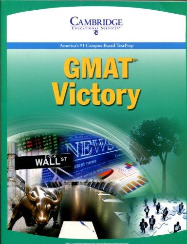 9781588940858: GMAT Victory