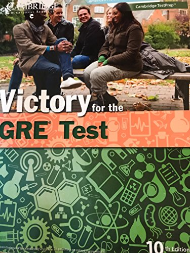 9781588941763: Victory for the GRE Test 10th Edition