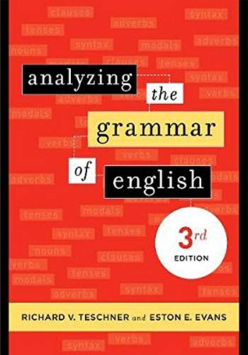 9781589011663: Analyzing the Grammar of English