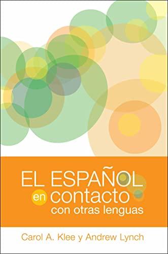 9781589012653: El español en contacto con otras lenguas (Georgetown Studies in Spanish Linguistics series)