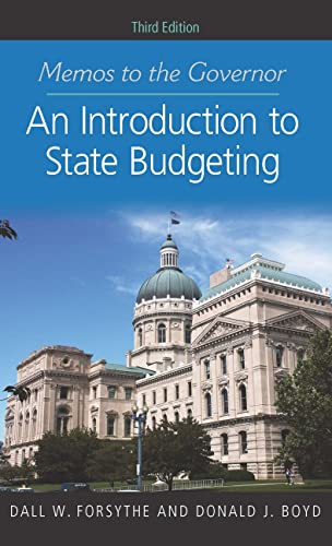 9781589019249: Memos to the Governor: An Introduction to State Budgeting