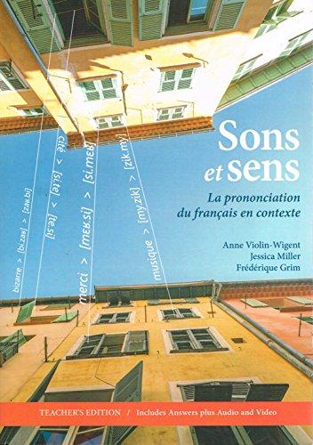 9781589019850: Sons et Sens: La Prononciation du Francais en Contexte
