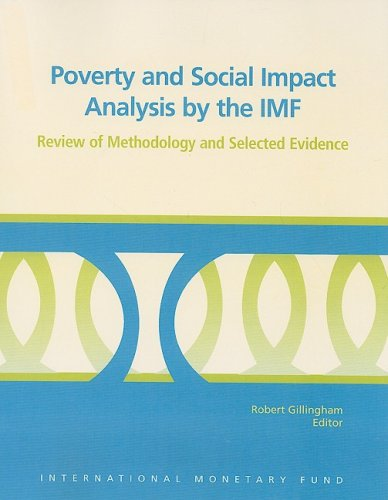9781589066625: Poverty and Social Impact Analysis by the IMF: Review of Methodology and Selected Evidence