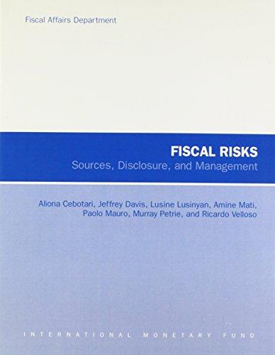 9781589067905: Fiscal Risks: Sources, Disclosure, and Management