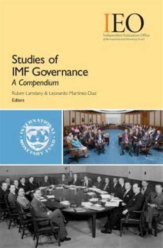 9781589068636: Studies of IMF Governance: A Compendium