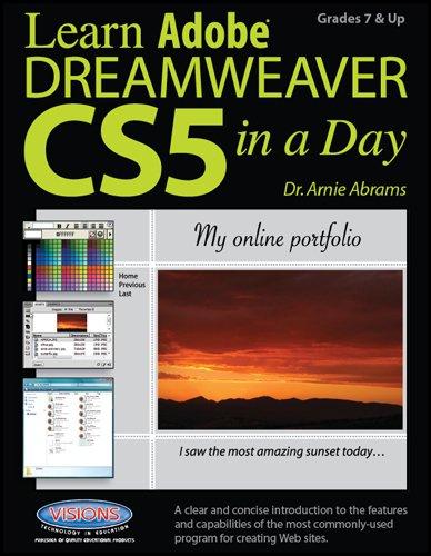 Learn Adobe Dreamweaver CS5 in a Day: Arnie Abrams