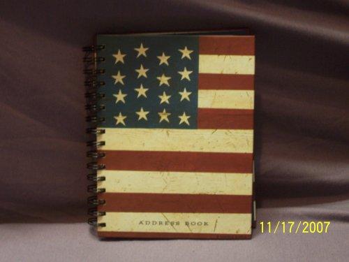 9781589132580: Warren Kimble Address Book in Flag Look