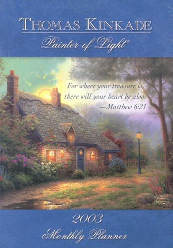 Moonlight Cottage Calendar (1589132998) by Kinkade, Thomas
