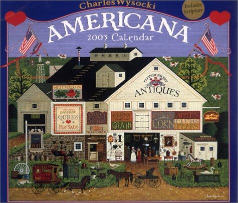 9781589135222: The Americana Calendar (2003)