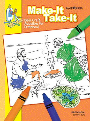 9781589196926: Preschool Make-It Take-It Bible Activities June-Aug. 2012