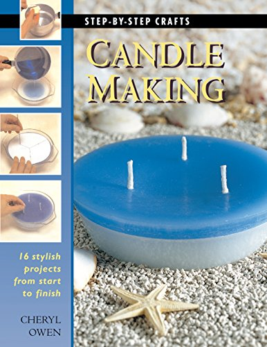 9781589230217: Candle Making: 16 Stylish Projects from Start to Finish (Step-By-Step Crafts)