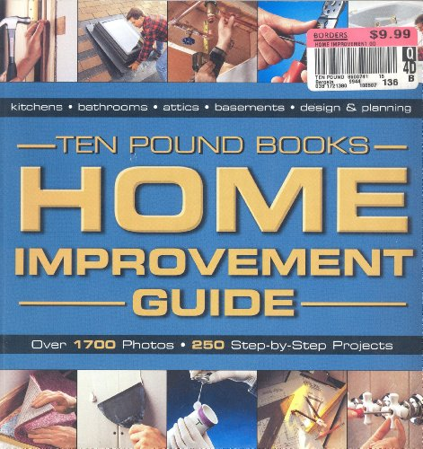 9781589233249: Home Improvement Guide - Ten Pound Books