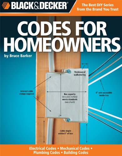 Black & Decker Codes for Homeowners: Electrical Codes, Mechanical Codes, Plumbing Codes, Building...