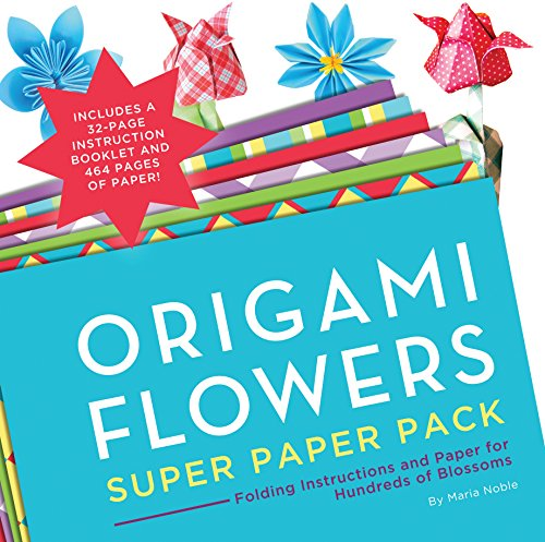 9781589238985: Origami Flowers Super Paper Pack: Folding Instructions and Paper for Hundreds of Blossoms (Origami Super Paper Pack)