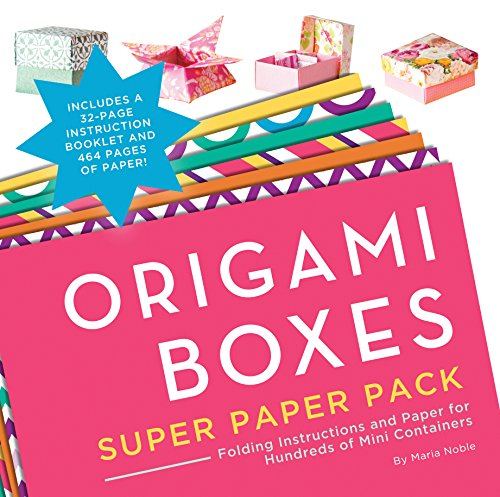 9781589238992: Origami Boxes Super Paper Pack: Folding Instructions and Paper for Hundreds of Mini Containers