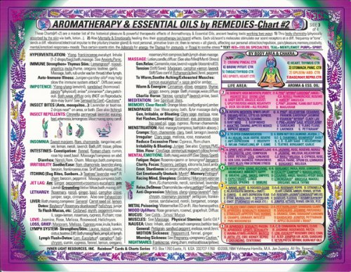 9781589243026: AROMAtherapy & Essential Oils REMEDIES-CHART #2 of 2