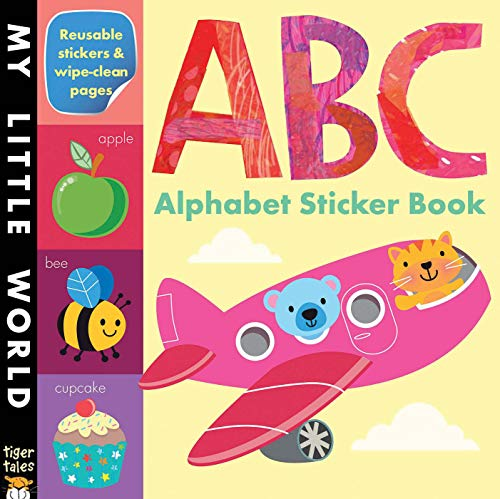 9781589254459: ABC Alphabet Sticker Book (My Little World)