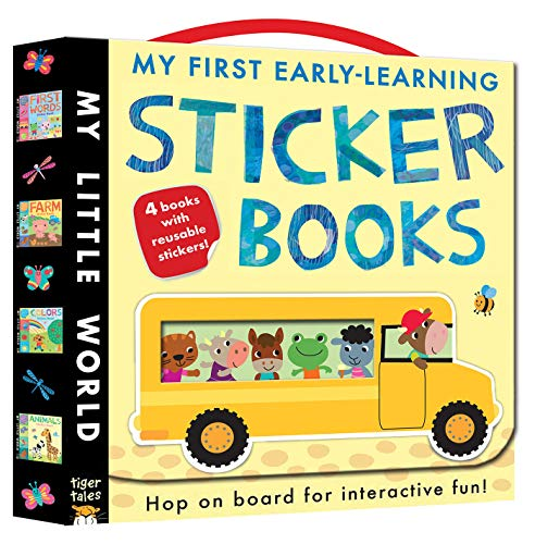 9781589254503: My First Early-Learning Sticker Books (My Little World)