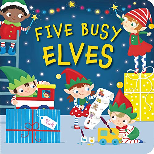 Five Busy Elves: Hegarty, Patricia