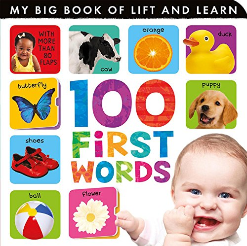 9781589256071: 100 First Words (My Big Book of Lift and Learn)