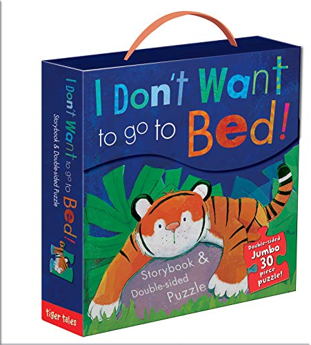 9781589256149: I Don't Want to Go to Bed! Book & Puzzle Set