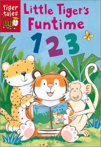 Little Tiger's Funtime 123 (Little Tiger's Funtime Books): Warnes, Tim