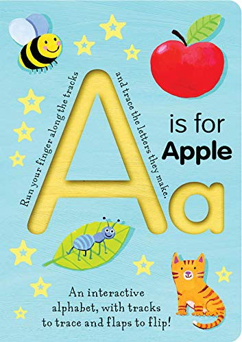 9781589258723: A is for Apple (Smart Kids Trace-And-Flip)