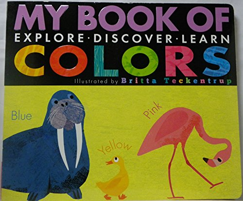 9781589259997: my book of colors: explore, discover, learn