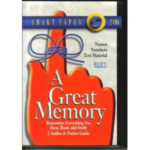9781589260245: A Great Memory: Remember Everything You Hear, Read, and Study (Smart Audio)