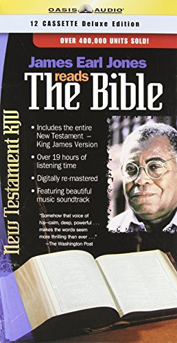 James Earl Jones Reads the Bible: KJV-New Testament